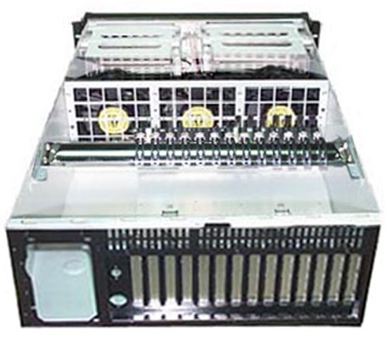 SS-4U862 4U IPC 工業機箱  (14槽)